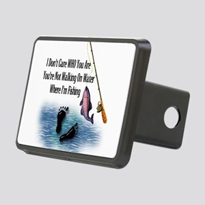 fishing01 Rectangular Hitch Cover