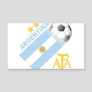 Argentina(blk) Rectangle Car Magnet