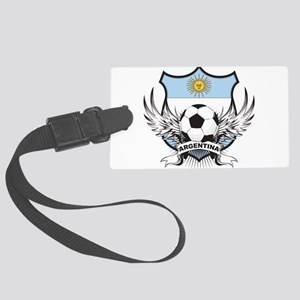 Argentina(blk) Large Luggage Tag