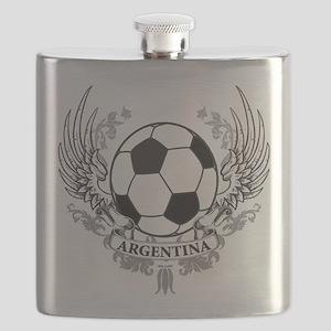Argentina(blk) Flask