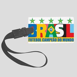 brasil Large Luggage Tag
