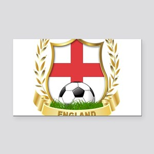 england Rectangle Car Magnet