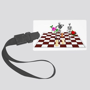 chess01 Large Luggage Tag