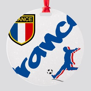 france Round Ornament