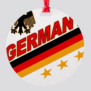 germany logo a Round Ornament