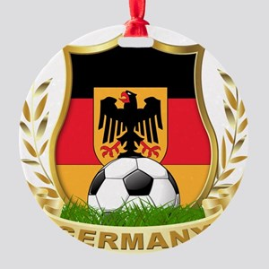 germany soccer Round Ornament