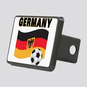 germany soccer Rectangular Hitch Cover