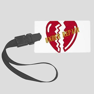 heart_repair01 Large Luggage Tag