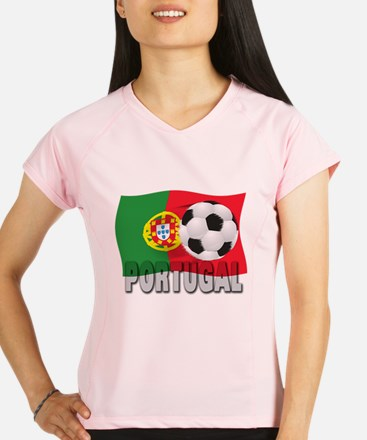 Portugal(blk).png Performance Dry T-Shirt