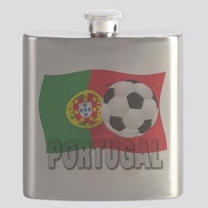Portugal(blk) Flask