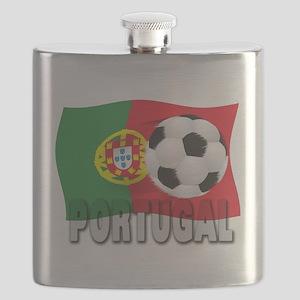 Portugal(blk) Flask