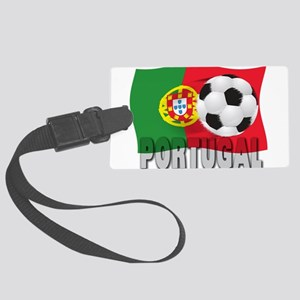 Portugal(blk) Large Luggage Tag