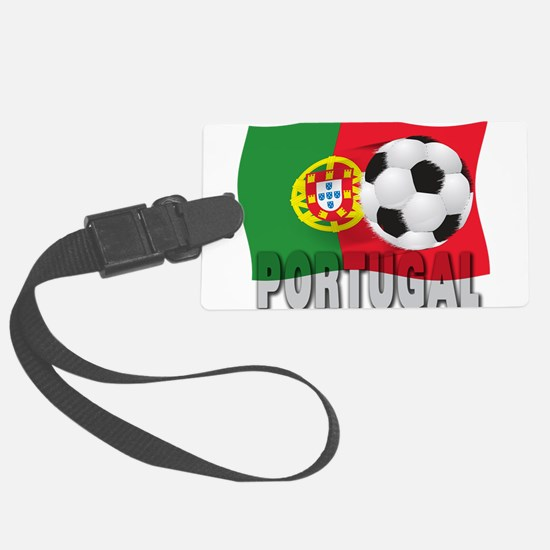 Portugal(blk).png Luggage Tag