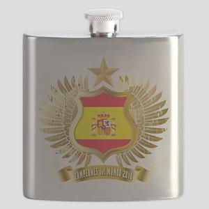 2010 spain champions Flask