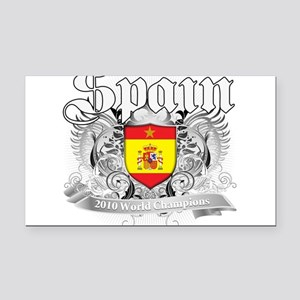 2010 spain champions Rectangle Car Magnet