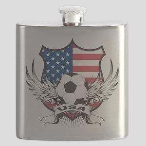 USA(blk) Flask