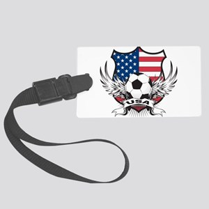 USA(blk) Large Luggage Tag