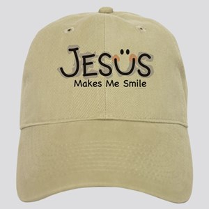 Jesus Makes Me Smile: Cap