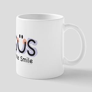 Jesus Makes Me Smile: Mug