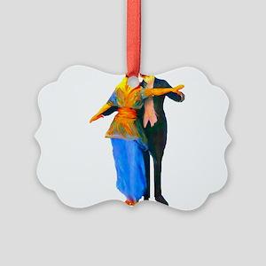 3-doggiedancers01b Picture Ornament