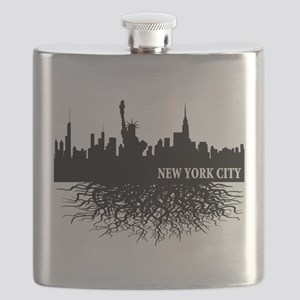 new york city roots Flask
