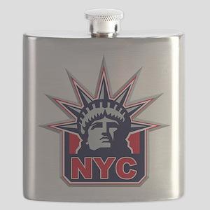 raised inthe bronx Flask