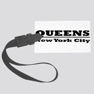 Queens Large Luggage Tag