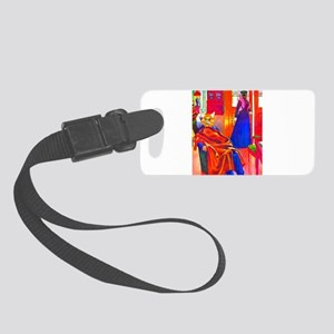 catpeople01b Small Luggage Tag