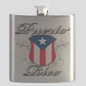 PR shield Flask