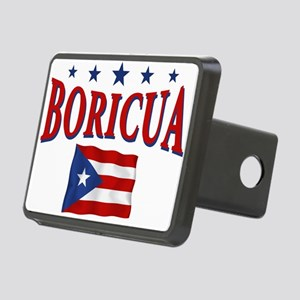 boricua Rectangular Hitch Cover