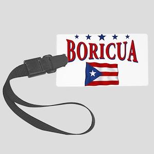 boricua Large Luggage Tag