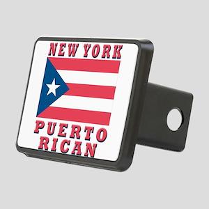 new york Puerto rican Rectangular Hitch Cover