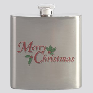 7-6-5-4-3-Merry Christmas T-Shirt Flask