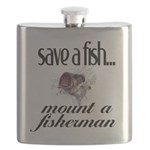 Save a Fish Flask
