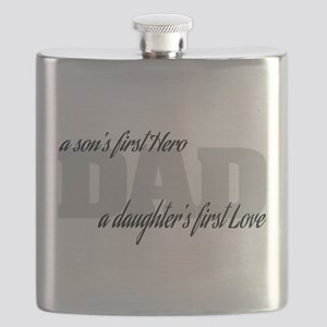 Son's First Hero - Daughter's First Love Flask