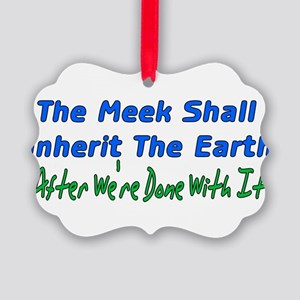meek01 Picture Ornament