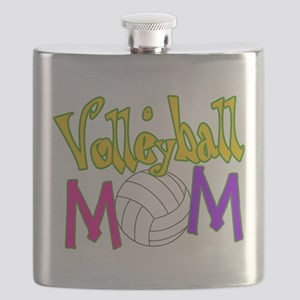 Volleyball Mom 4 Flask