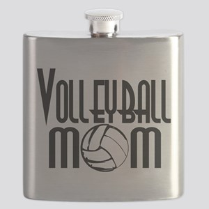 Volleyball Mom 5 Flask