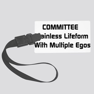 a1_committee01 Large Luggage Tag