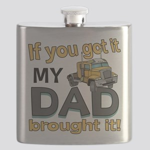 Dad brought it - Trucker Flask