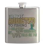 quit wife fish Flask