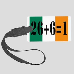 Irish pride Large Luggage Tag