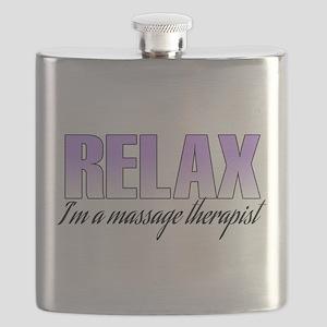 Relax... I'm a massage therapist Flask