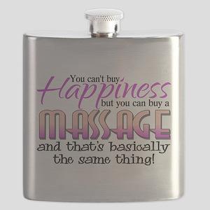 Happiness Massage Flask