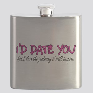 I'd Date You Flask