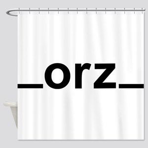 ORZ Shower Curtain