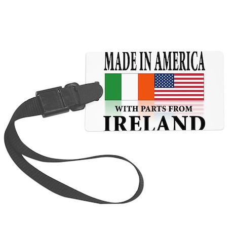 Irish American pride Large Luggage Tag