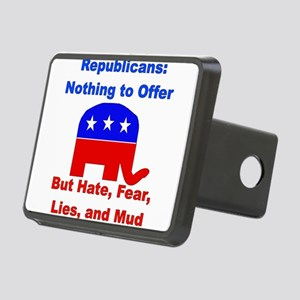 gop_losers01 Rectangular Hitch Cover