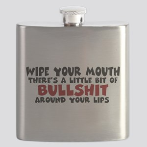 Wipe Your Mouth Flask