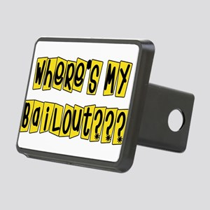 bailouts02 Rectangular Hitch Cover